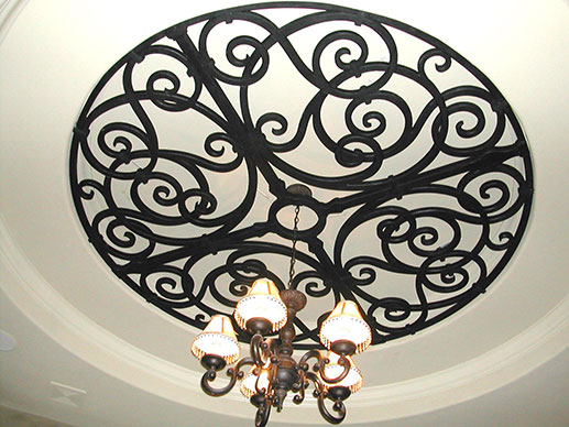 Tableaux® Faux Iron for Ceiling Coffers in Homes Near Westlake Village & Malibu, California (CA)
