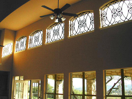 Tableaux® Faux Iron for Big Halls Windows Near Westlake Village & Malibu, California (CA)
