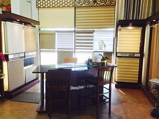Our Window Treatments Gallery Showroom Near Westlake Village, California (CA) for Custom Blinds, Shades, and Shutters