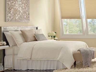 Westlake Village custom bedding.